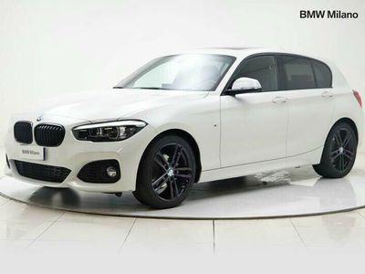 usata BMW 114 Serie 1 d 5p. Msport del 2019 usata a Milano