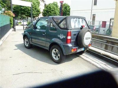 usata Suzuki Jimny 1.3i 16V cat Cabrio 4WD club rock