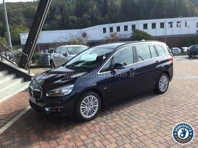 usata BMW 218 SERIE 2 GRAN TOURER d gr.tourer Luxury 7p.ti auto