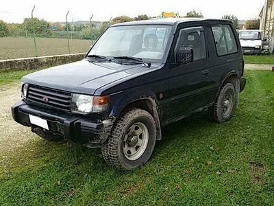 usata Mitsubishi Pajero 2.5 tdi metal-top forester diesel fuoristrada blu