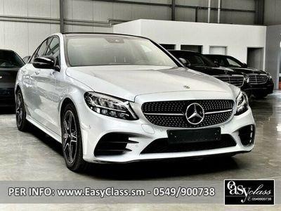 usata Mercedes C200 Auto AMG line NAVI LED TELECAMERA