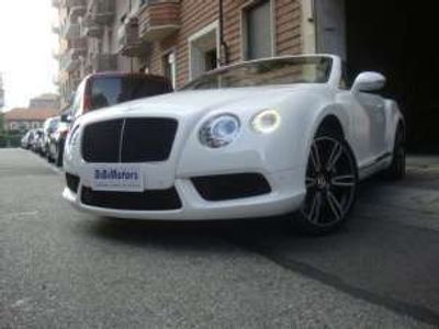 usata Bentley Continental GTC V8 MULLINER FULL FULL KM 31000!!