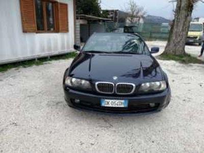 usata BMW 318 Cabriolet Ci (2.0) cat Benzina