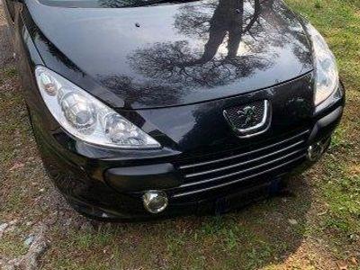 used Peugeot 307 CC cabrio nera 1.6 benzina