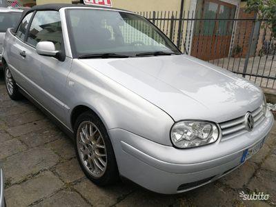 usata VW Golf Cabriolet 1.6 Gpl