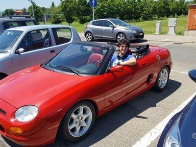 usata MG F - interni in pelle rossa - 1997