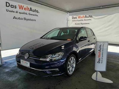usata VW Golf VII 1.5 TSI 130 CV EVO DSG 5p. Executive BlueMotion del 2017 usata a Palermo