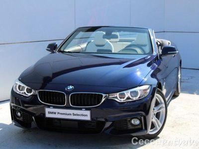 brugt BMW 420 Serie 4 Cabrio d Msport del 2016 usata a Castelfranco Veneto