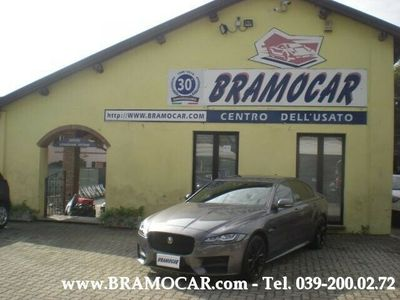 usata Jaguar XF II 2.0 D RWD 180cv R-Sport AUTO - BERLINA KM 8.950