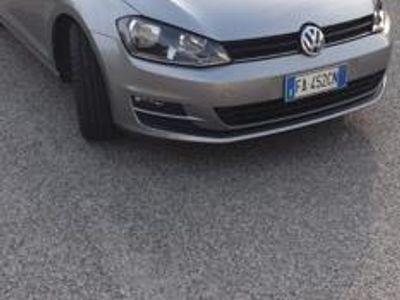 usata VW Golf 1.6 TDI 110 CV DSG 5p. Highline Blu