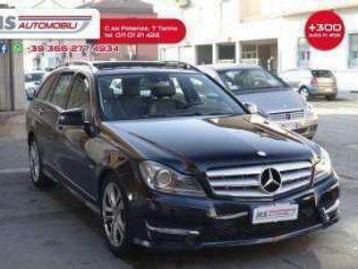 usata Mercedes C250 Classe C MERCEDESCDI S.W. 4Matic BlueEFF. Avantgarde Tetto Pelle Diesel