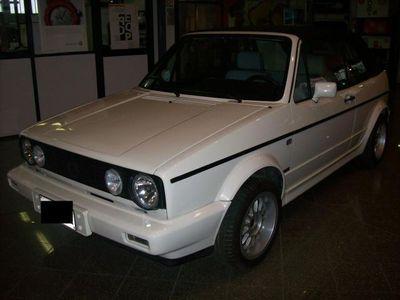 usata VW Golf Cabriolet 1600 gl benzina bianco