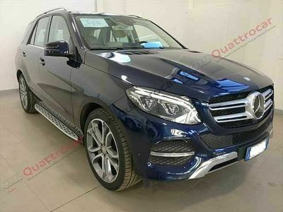 usata Mercedes GLE350 d 4Matic Exclusive Plus