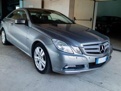 brugt Mercedes E350 CDI Coupé BlueEFFICIENCY Avantgarde