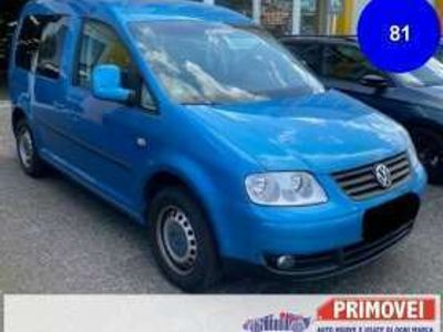 usata VW Caddy Life 2.0 EcoFuel 7 posti Benzina/Metano