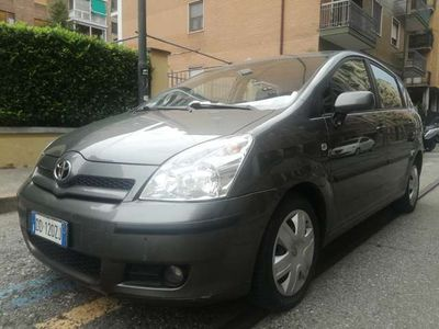 usata Toyota Corolla Verso 2.2 16V D-4D UNICO PROPRIETARIO!!!!!! EURO 4