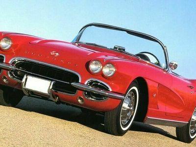 usata Corvette C1 1962 targa oro perfetta