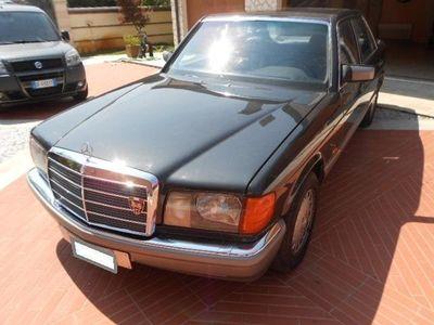 usata Mercedes S500 S 500SE LUNGA. NR834 DI 999 TARGA ORO