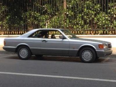 usata Mercedes 560 SEC cat Coupé