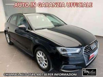 "usata Audi A3 e-tron spb 1.4 tfsi s-tronic led 17"" navi pdc elettrica/benzina"