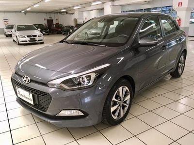 used Hyundai i20 1.1 CRDi 12V 5 porte Blackline GARANZIA fino 2023