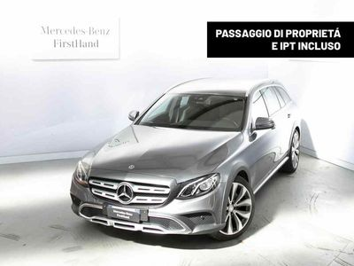 usata Mercedes E220 All-Terrain Classe E SW All-TerrainS.W. 4Matic Auto Business Sport All-Terrain