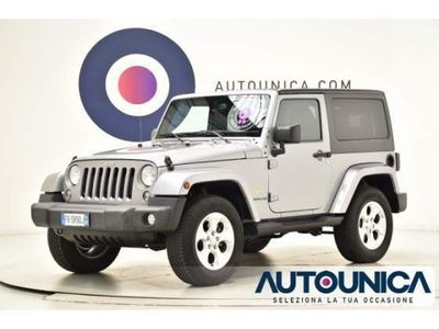usado Jeep Wrangler 2.8 crd sahara solo 57.404 km 4x4 automatico