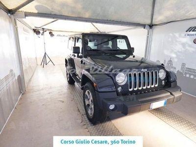 usata Jeep Wrangler 2.8 CRD DPF Sahara Auto del 2018 usata a Torino
