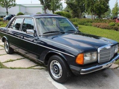 usado Mercedes 240 d 72cv servosterzo tetto apribile restaurata
