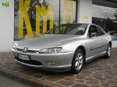used Peugeot 406 Coupe 2.0i 16V cat Plus