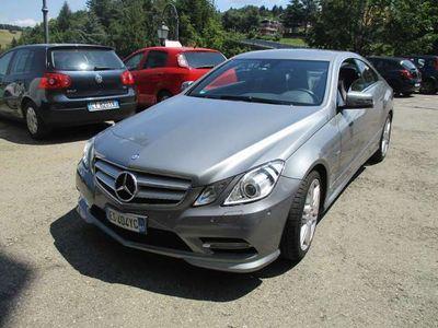 usata Mercedes E220 Coupé premium