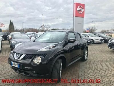 usata Nissan Juke 1.6 GPL Eco Acenta KM CERTIFICATI