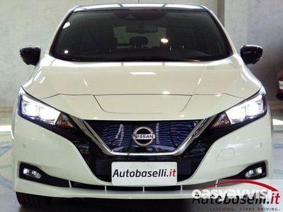usata Nissan Leaf tekna pack propilot park elettrica pelle led elettrica/benzina