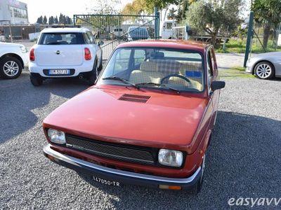 usata Fiat 127 1050 3 porte cl benzina due volumi rosso scuro