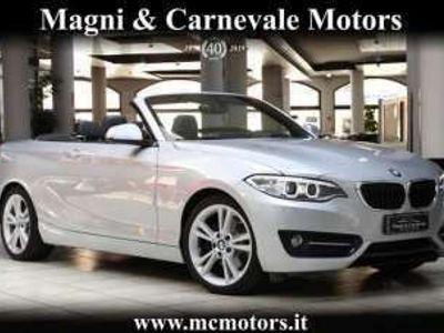 usata BMW 220 D SPORT CABRIO|NAVI|SPORT ELECTRIC SEATS|BI-XENO Diesel