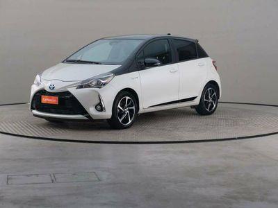 usata Toyota Yaris 1.5 Hybrid Trend White Edition My18+