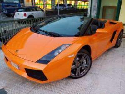 usata Lamborghini Gallardo 5.0 v10 spyder benzina