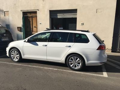 usata VW Golf Variant 1.6 TDI 110 CV Business Blu