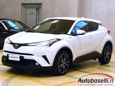 usata Toyota C-HR 1.8 hybrid e-cvt team unico proprietario