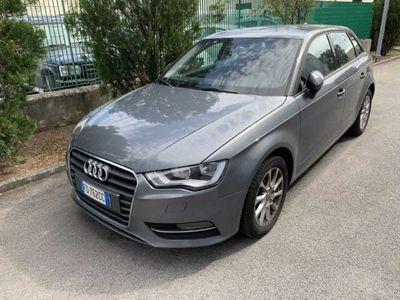 gebraucht Audi A3 SPB 1.6 TDI Euro6 NAVI GARANZIA KM CERTIFICATI