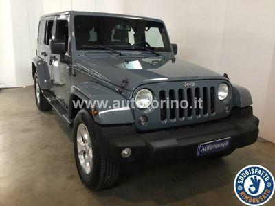 usata Jeep Wrangler Unlimited wrangler unlim. 2.8 crd Sahara auto E5+