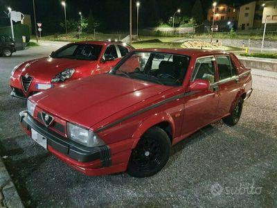 usata Alfa Romeo 75 1.8 turbo ASN numerata - matching number