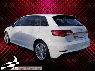 usata Audi A3 Sportback 30 TFSI usato