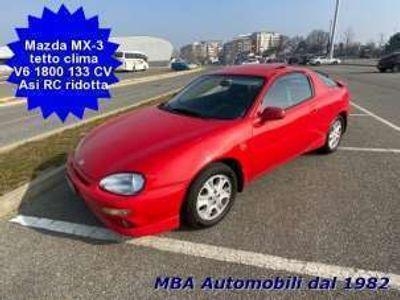 usata Mazda MX3 1.8i V6 24V Tetto apr. Clima - RC ridotta Benzina