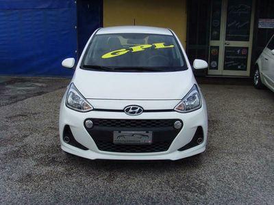 usata Hyundai i10 1.0 LPGI ECONEXT SOUND EDITION KM CERTIFICATI