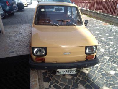used Fiat 126 -personal anno 1980