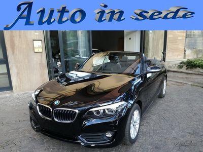 usata BMW 220 D Cabrio Advantage restyl. Aut-Pelle-Led