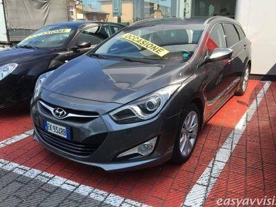 gebraucht Hyundai i40 wagon 1.7 crdi 136cv comfort diesel station grigio chiaro