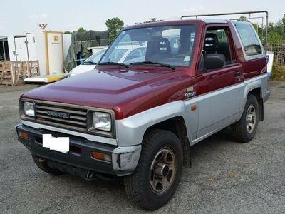 usata Daihatsu Rocky Feroza1.6i cat Resin-top SX