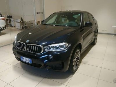 usata BMW 502 X6CV M-SPORT FULL OPTIONAL